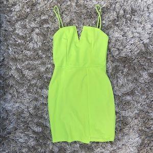 Neon Limegreen Dress